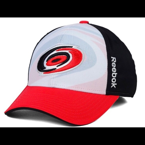 Carolina Hurricanes Reebok Draft Hat Flex Fit NWT 3f8200911f6